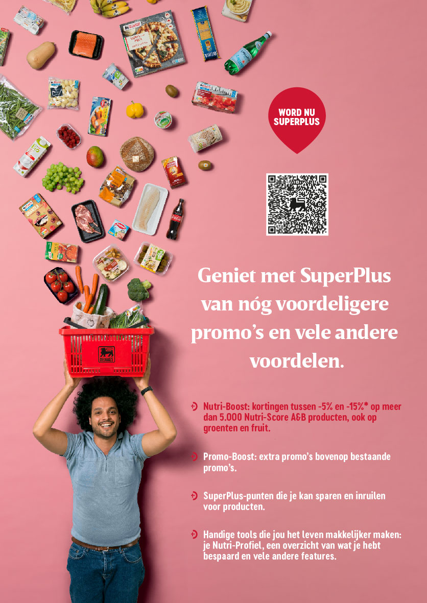 advertentie Proxy Delhaize Ten Bos