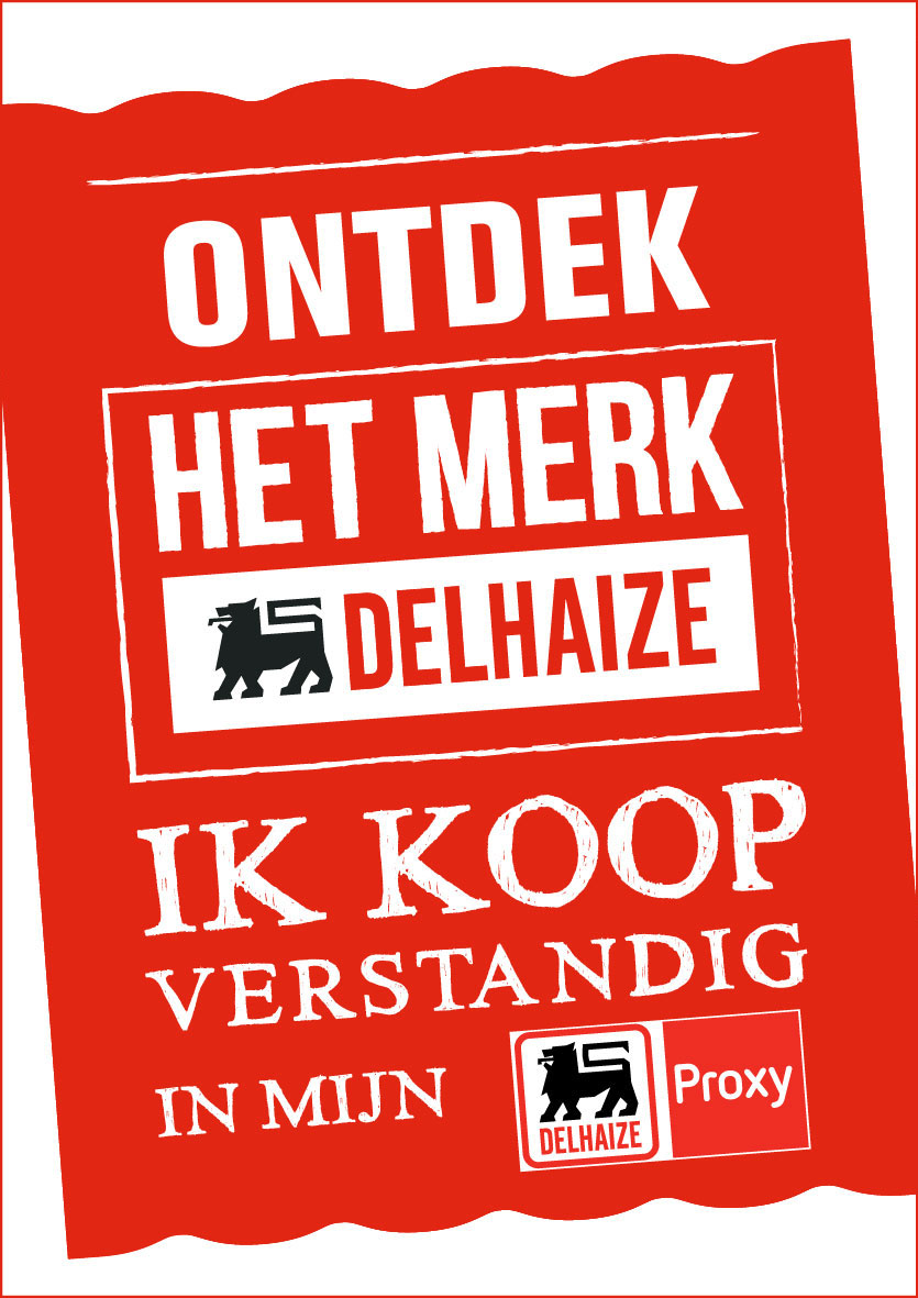 advertentie supermarkt Proxy Delhaize Olsene
