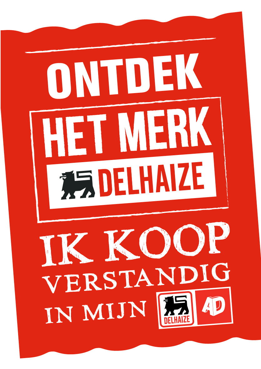 advertentie supermarkt AD Delhaize Nederename