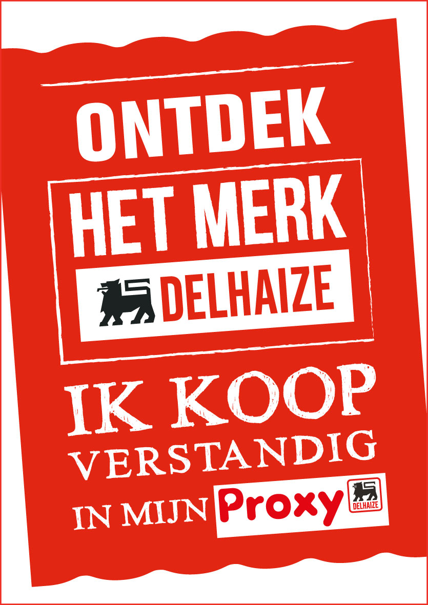 advertentie supermarkt Proxy Delhaize Denderleeuw