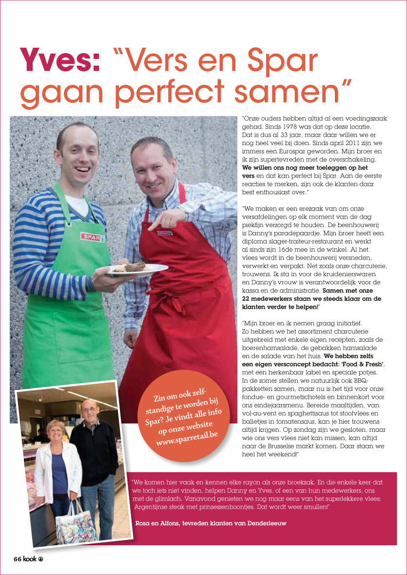 advertentie supermarkt Eurospar Coppens Denderleeuw