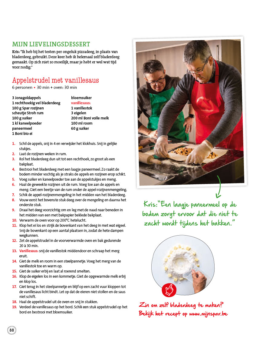 advertentie Spar Denderwindeke