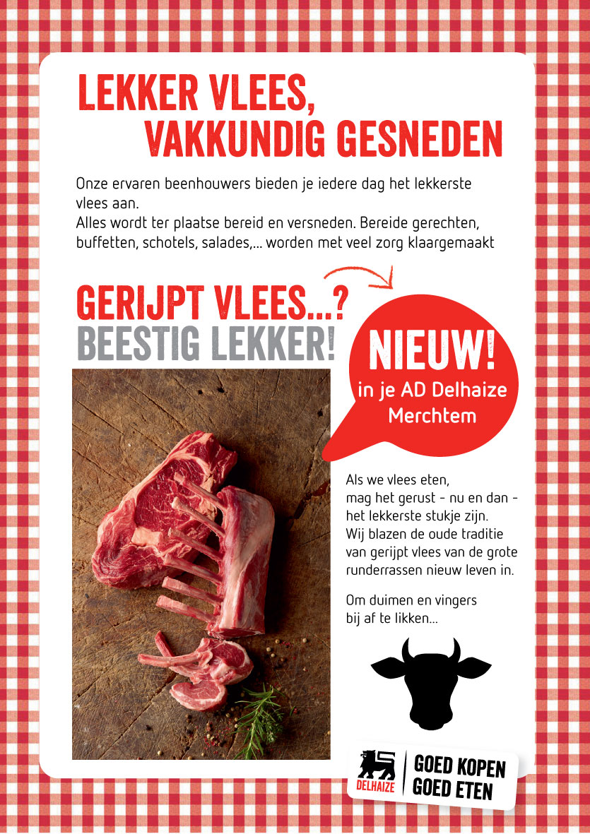advertentie AD Delhaize Merchtem