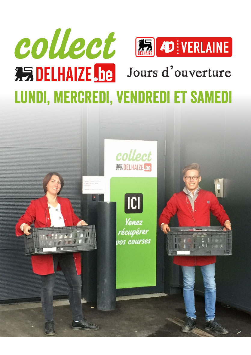 advertentie AD Delhaize Verlaine